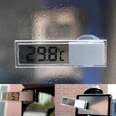 Indoor & Outdoor Car LCD Digital Display Room Temperature Meter/Thermometer New