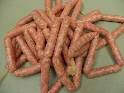 Collagen Sausage Casings for fresh or smoked sausage, 20mm /18 strands 2 per pkg