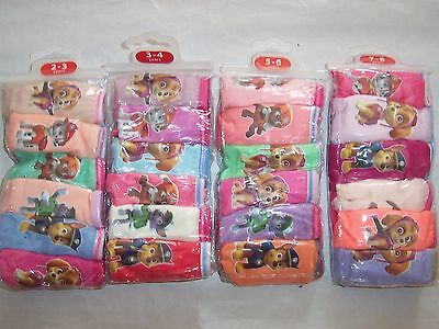 PAW PATROL GIRLS UNDIES UNDERPANTS KNICKERS UNDERWEAR 6/PACK COTTON Size 1-8