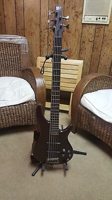 Ibanez SR505 Sound Gear 5-String Electric Bass Guitar- Made In Korea!