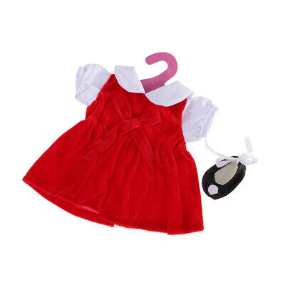 Hot Handmade Doll Clothes Red Dance Set for 18 inch American Girl Doll