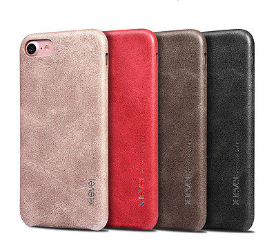 Ultra Slim Retro Vintage Classic Soft Leather Back Phone Case Cover For iPhone