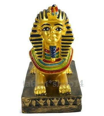 Sphinx Statues Resin Ancient Egyptian Crafts Gift Souvenir Decor Home