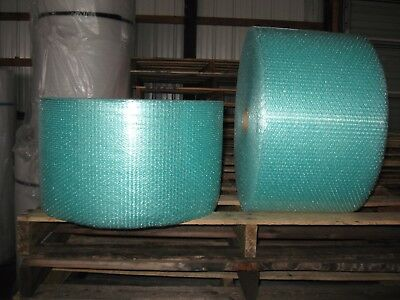 "3/16"" Small Recycled Green Bubble, 12"" x 600' Per Order - SHIPS FREE!"