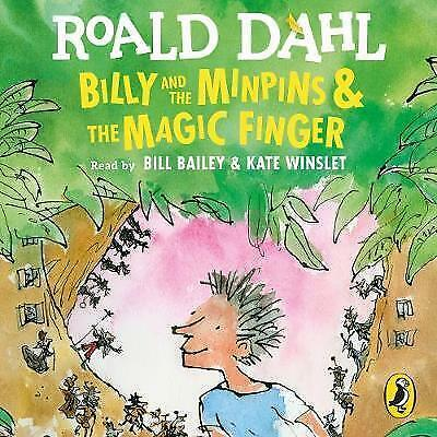 Billy and the Minpins by Roald Dahl & Quentin Blake (New) Book