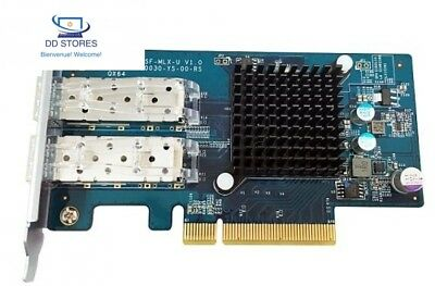 QNAP Dual Port 10 GbE SFP + Network Expansion Card F