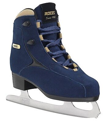 (39, Blue (Blue Gold)) - Roces Caje Ice Skates. Delivery is Free