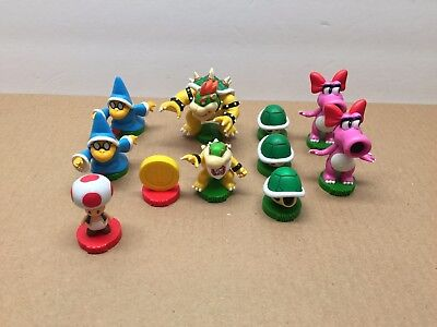Vintage Nintendo Super Mario Brothers PVC Chess Replacement Pieces Cake Toppers