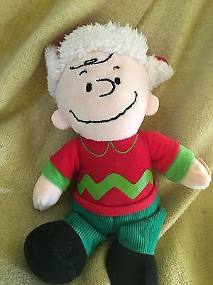2016 Peanuts Gang WISH YOU A MERRY CHRISTMAS Charlie Brown Musical Plush NWOT