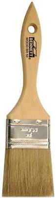 "Bennett WOOD BR 50 Straight Paint Brush 2"" Wooden Handle PINCEAU PEINTURE 2 PO"