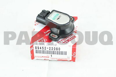 8945222080 Genuine Toyota SENSOR, THROTTLE POSITION (FOR E.F.I.) 89452-22080