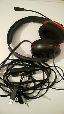 Turtle Beach EarForce P11 Gaming Headset SONY PS3 PS4 Playstation 3 4 PC MAC TOP
