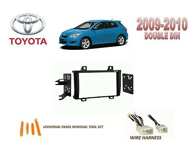 DASH INSTALL KIT for CAR STEREO 2004-2009 TOYOTA PRIUS, with WIRE
