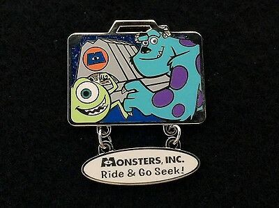 Tokyo Disney Trading Pin Vacation Package Gift Monsters Inc Mike & Sulley 70608