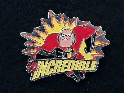 Japan Disney Trading Pin - Mr Incredible Pixar Incredibles HTF Starburst - 40214