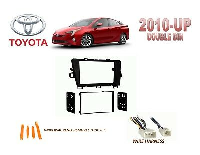 2010-UP TOYOTA PRIUS DASH INSTALL KIT for CAR STEREO, with WIRE HARNESS