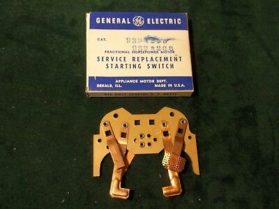 New GE General Electric Motor Starting Switch 939A208