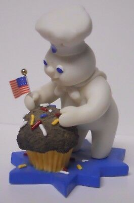 VINTAGE! 1997 Danbury Mint Pillsbury Doughboy Calendar Figurine-July