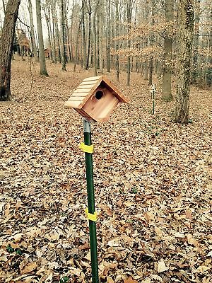 T-Post Mounting Bracket Single Mount Birdhouse, Squirrel Feeders,