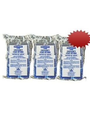 Mainstay Emergency Food Rations 2400 Calorie Bars, Enriched with Vitamins &