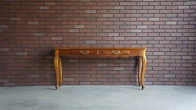 Console Table / Sofa Table / Hall Table / French Provincial Console by Henredon