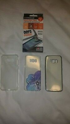 GALAXY S8 PLUS (3 cases and 2 screen protector)