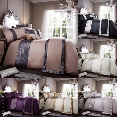 Glamourous Luxurious Duvet Cover Sets Bedding Sets / Runners All Sizes Available