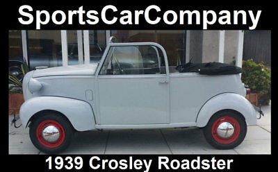 1939 CROSLEY ROADSTER  1939 CROSLEY ROADSTER - Just Acquired From Private Museum - Restored Rare Fun