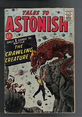 TALES TO ASTONISH #22 PRE-HORROR JACK KIRBY Early silver age book. (1961)
