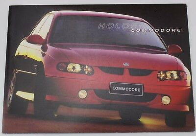 New Holden Commodore VX Sales Brochure Acclaim S SS Executive Memorabilia Redhot