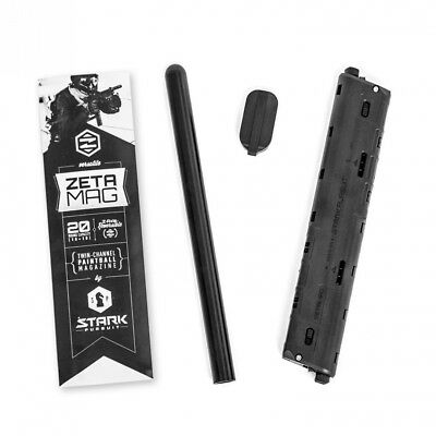 Zetamag Gen 3 - 20-round Extended Paintball Magazine for TiPX, TCR and SMGs