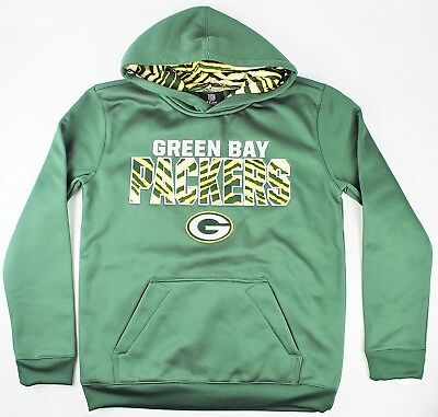 (Youth Small 8) - Green Bay Packers NFL Youth Team Logo Flex Performance