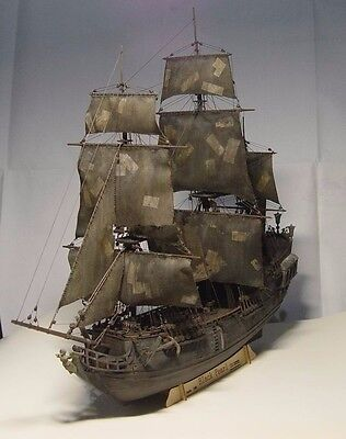 Hobby model kits scale 1/96 black pearl Pirates ship wooden model Deluxe Edition