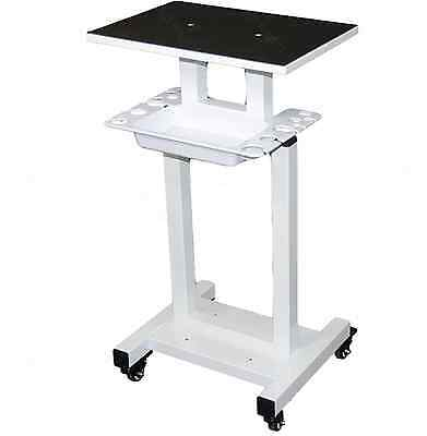 Dental Rolling Equipment Cart Stand W/Tray