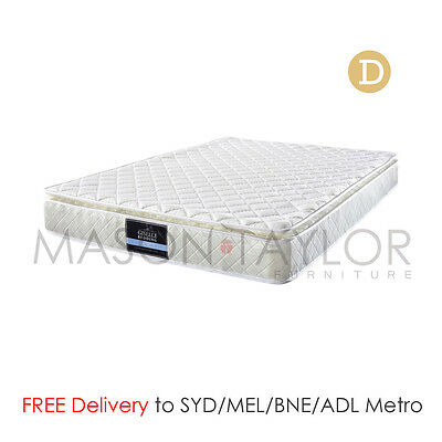 FREE DELIVERY(T&C) Pillow Top Pocket Spring Latex Foam Bed Mattress Double Size