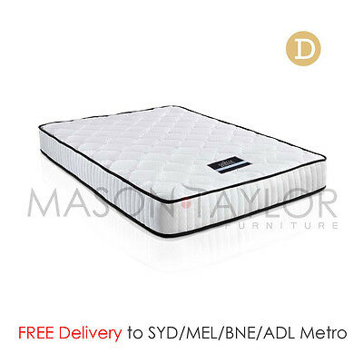 FREE DELIVERY(T&C) High Density Foam Pocket Spring Bed Mattress 21cm Double Size