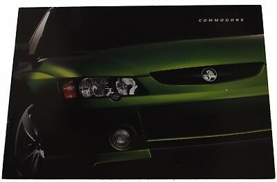 New Holden Commodore VY Series I Sales Brochure Memorabilia Hot House Green
