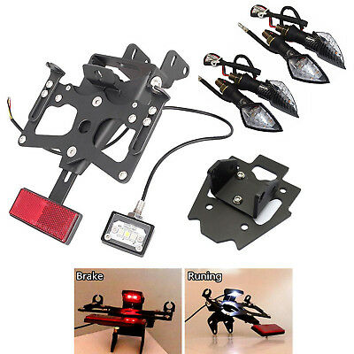 Fender Eliminator Kit License Plate Frame For Suzuki GSXR1000 2015 W' LED Lights