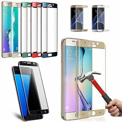 Full Tempered Glass Screen Protector For Samsung Galaxy S7 Edge S6 Edge S8 Plus