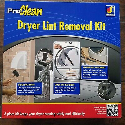 Brand NEW! ProClean Dryer Lint Removal Kit
