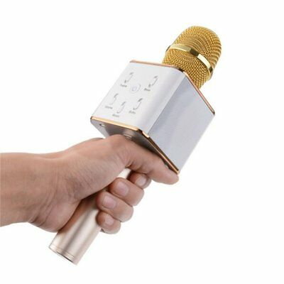 100% Genuine Tuxun Q7 Wireless Bluetooth Karaoke Microphone + Speaker