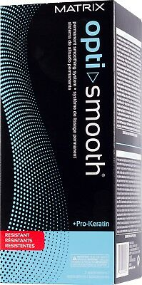 Matrix Opti Smooth Permanent Smoothing System Resistant Hair
