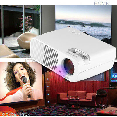 3D 1080P 5000LM Mini LED Home Teatro 8GB WiFi Andriod Bluetooth Proyector HDMI