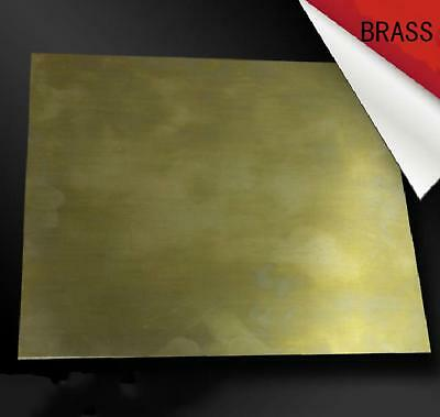 1pcs Brass Metal Sheet Plate 1.5mm x 100mm x 100mm