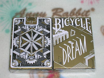 1 DECK Bicycle Dream Playing Cards (GOLD Edition) by Card Experiment-S102388-E2