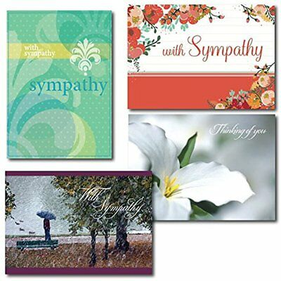 Greeting Cards Sympathy Greeting Assortment. Box Set Of Each Contemporary And To