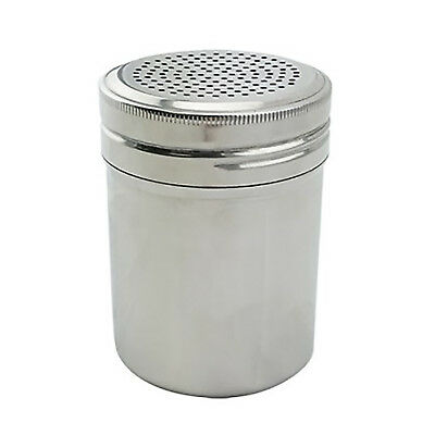NEW Rhinowares Stainless Coco Chocolate Shaker w/ perforated holes