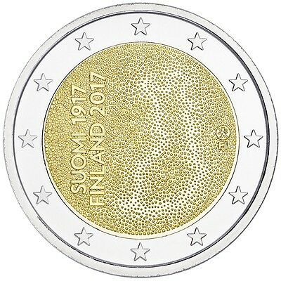 2 Euro Finland 2017 * 100th Anniversary - Independence * Unc