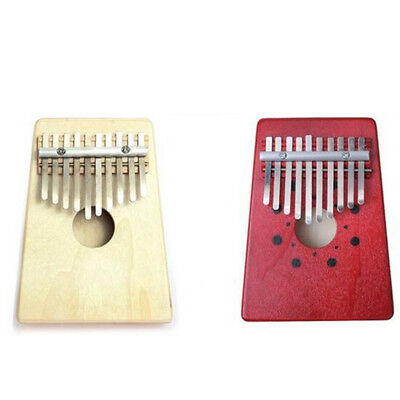 Kids Toy 10 Key Keyboard Music Instruments African Thumb Piano Finger Percussion