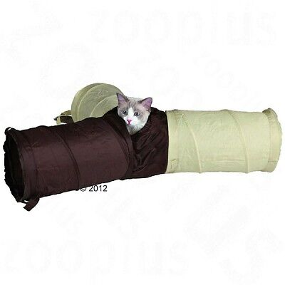 Cat Tunnel 3-Pipe Play Kittens Puppies Play Indoor Outdoor Toy Four Entrances